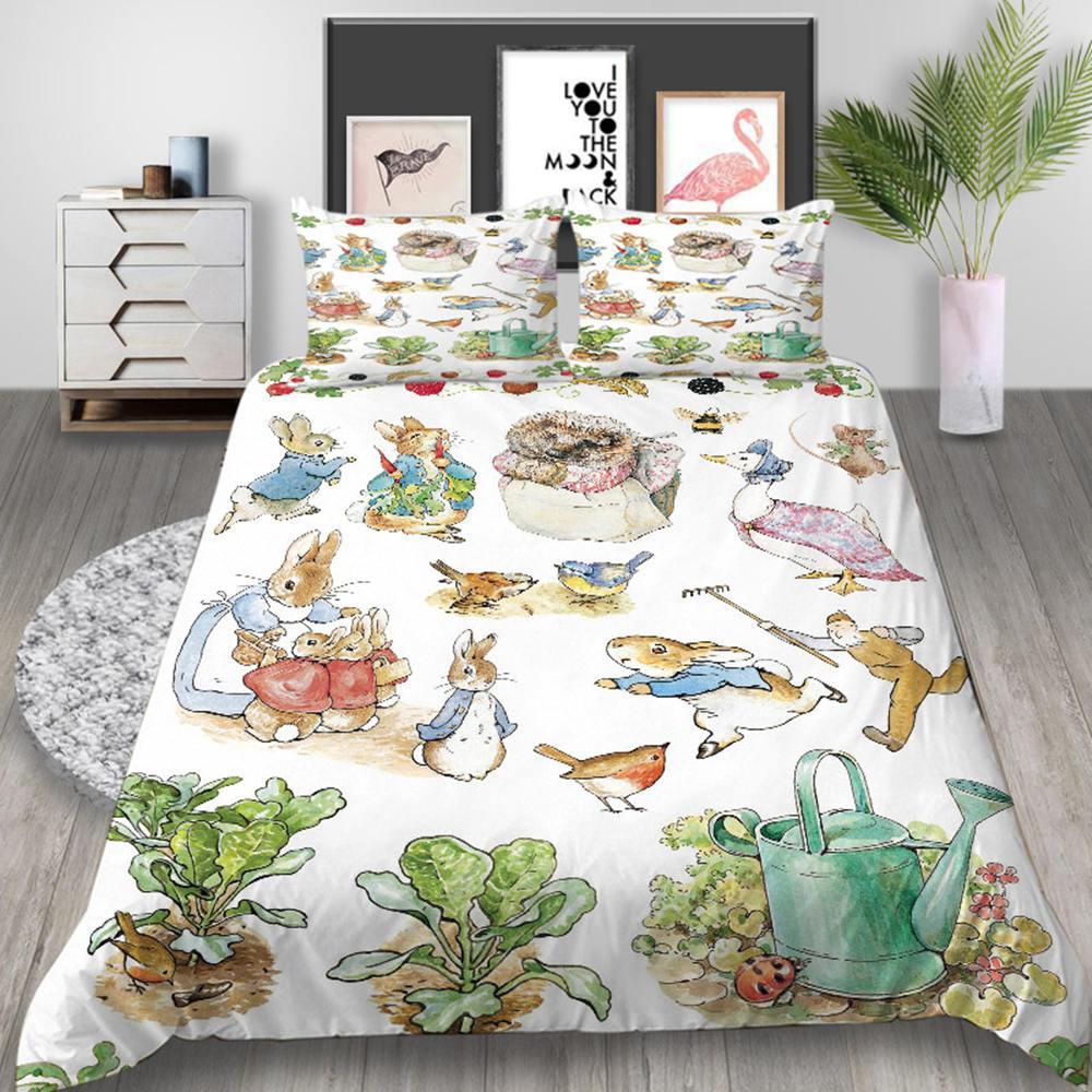peter rabbit series bedding set 3d
