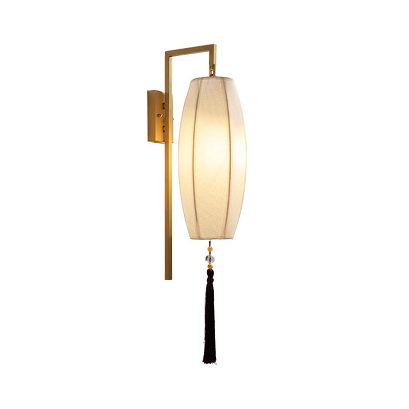 2020 New Chinese Wall Lamp All Copper Bedroom Bedside Lamp Corridor Stair Living Room Wall American Dining Room From Baibuju8 73 48 Dhgate Com