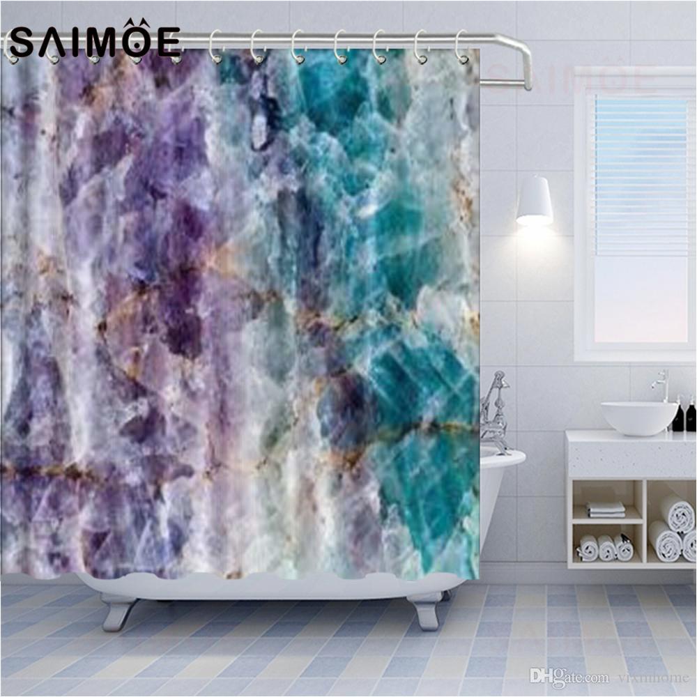 2021 grey marble pattern shower