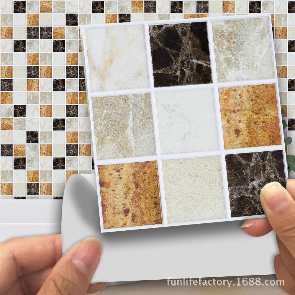 mosaic tile stickers removable