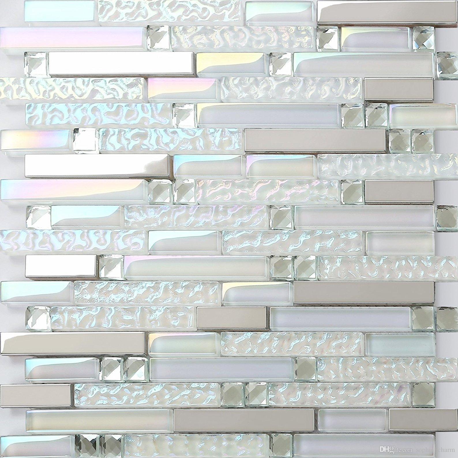 2021 glass mosaic kitchen tile