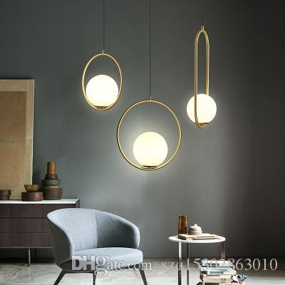 Nordic Glass Ball Pendant Light Modern Round Global Hanging Light Pendant Lamp Decorative Pendant Lighting Fixture Maskros Pendant Lamp Lights For Ceiling From Szq15302863010 71 56 Dhgate Com