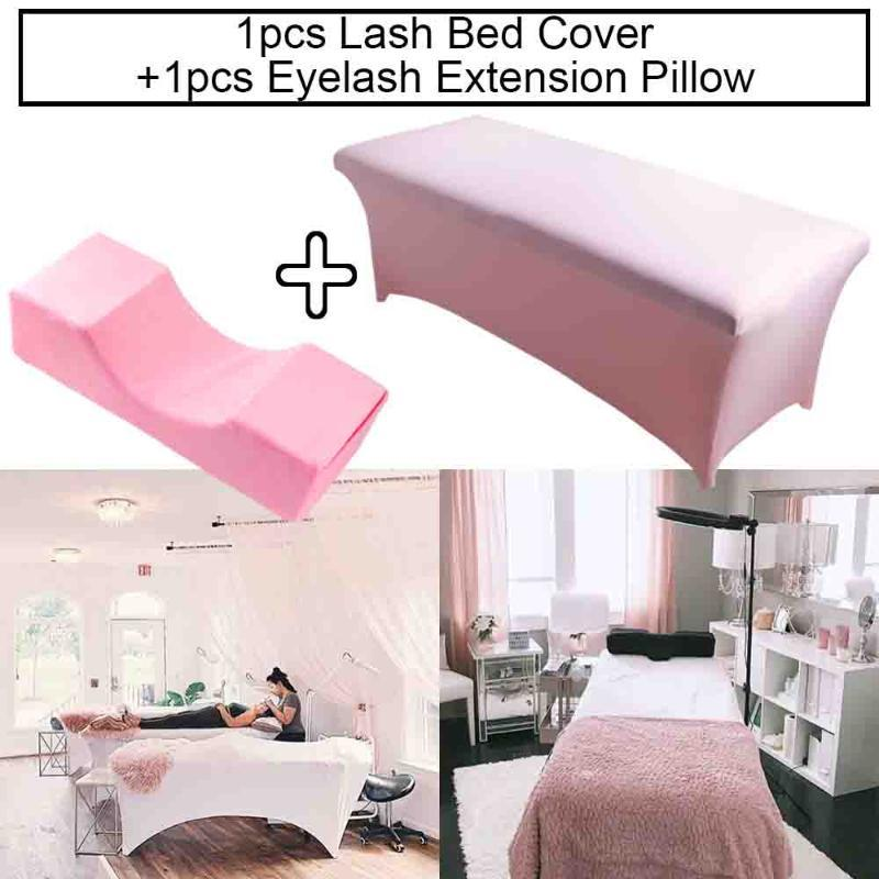 neck lash pillow eyelash extension bed