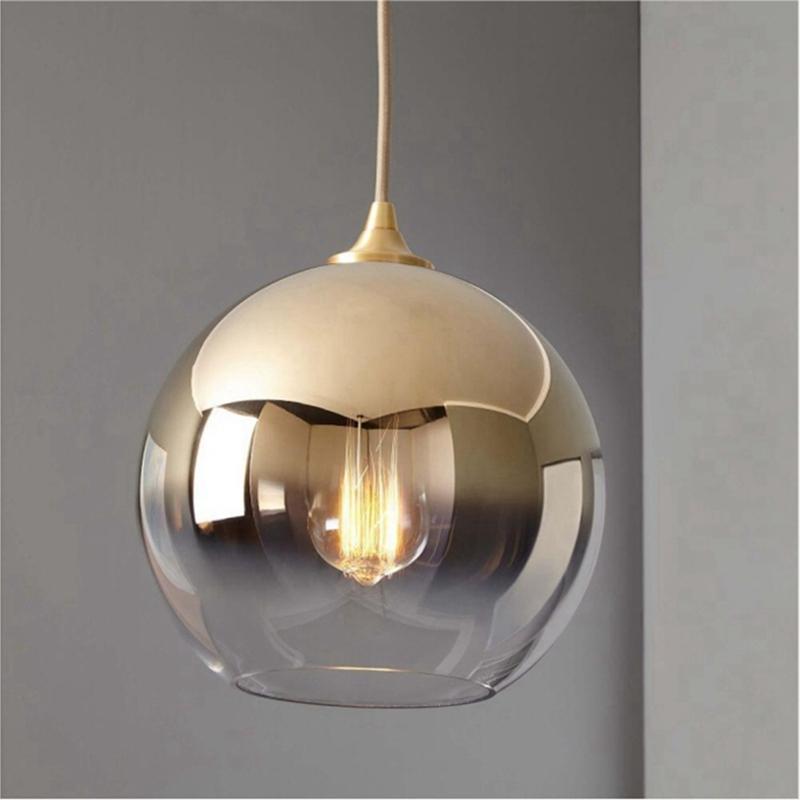 phezen kitchen island gold glass ball