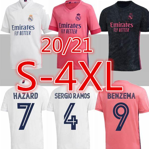 2021 3XLl 4XL 2020 Real Madrid Soccer Jersey 20 2021 Real ...