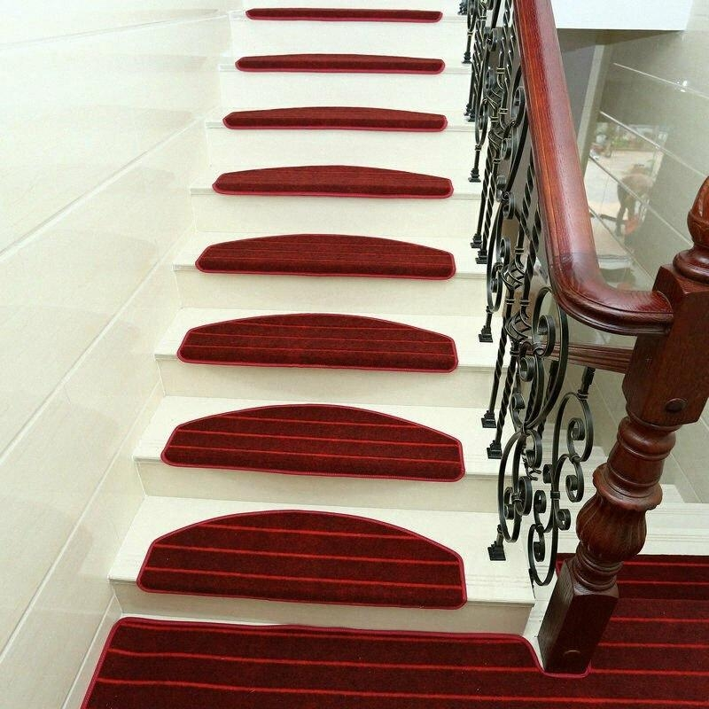 Modern Stripes Stairs Mat Adhesive Carpet Stair Treads Mat Non | Protecting Carpet On Stairs | Stair Treads Carpet | Carpet Mats | Non Slip Mat | Self Adhesive | Flooring