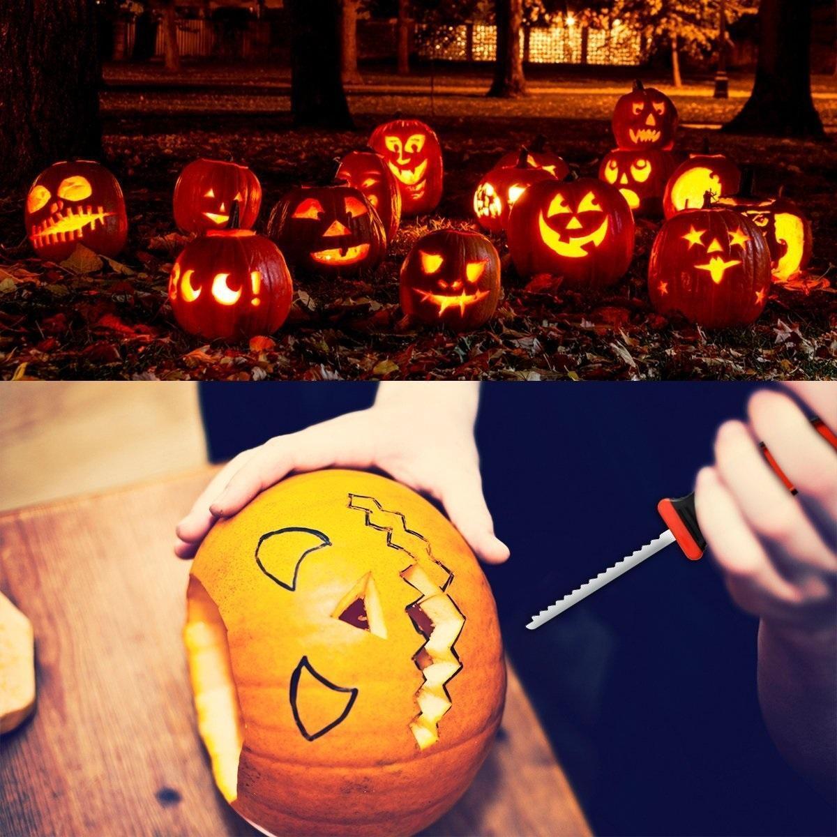 2020 Halloween Pumpkin Carving Kit Halloween Decorations Diy Tool Adult Children Pumpkin Lantern Carving Toy Knife Set Xd23968 From Seals168 3 63 Dhgate Com