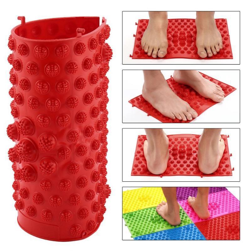 acheter acupression tapis pied running man same game type de reflexologie plantaire marche tapis de massage pour soulager la douleur stress relief