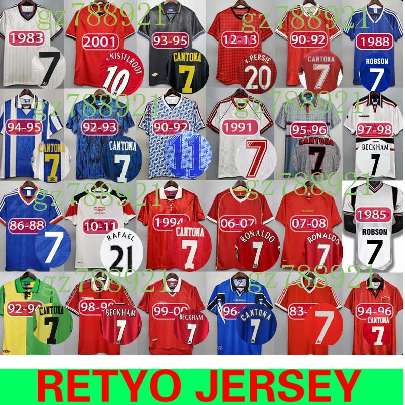 But cantona was something else. 2021 92 98 CANTONA GIGGS KEANE Mens RETRO Soccer Jerseys ...