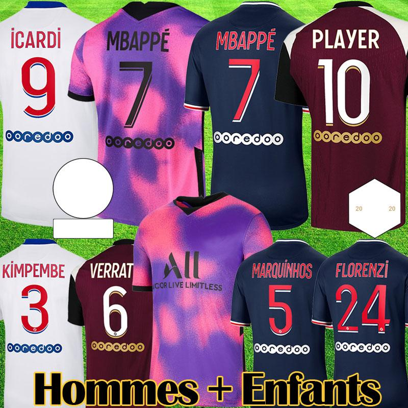 2021 maillots 2020 2021 mbappe fourth