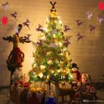 2019 Christmas Tree Hanging Flag Bunting Banner Xmas Decor Ornament String Party Decorations Indoor Outdoor Party Wedding From Ewin24 1 32