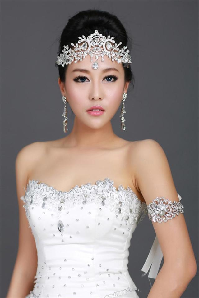 vintage wedding bridal bridesmaid crystal rhinestone diamond
