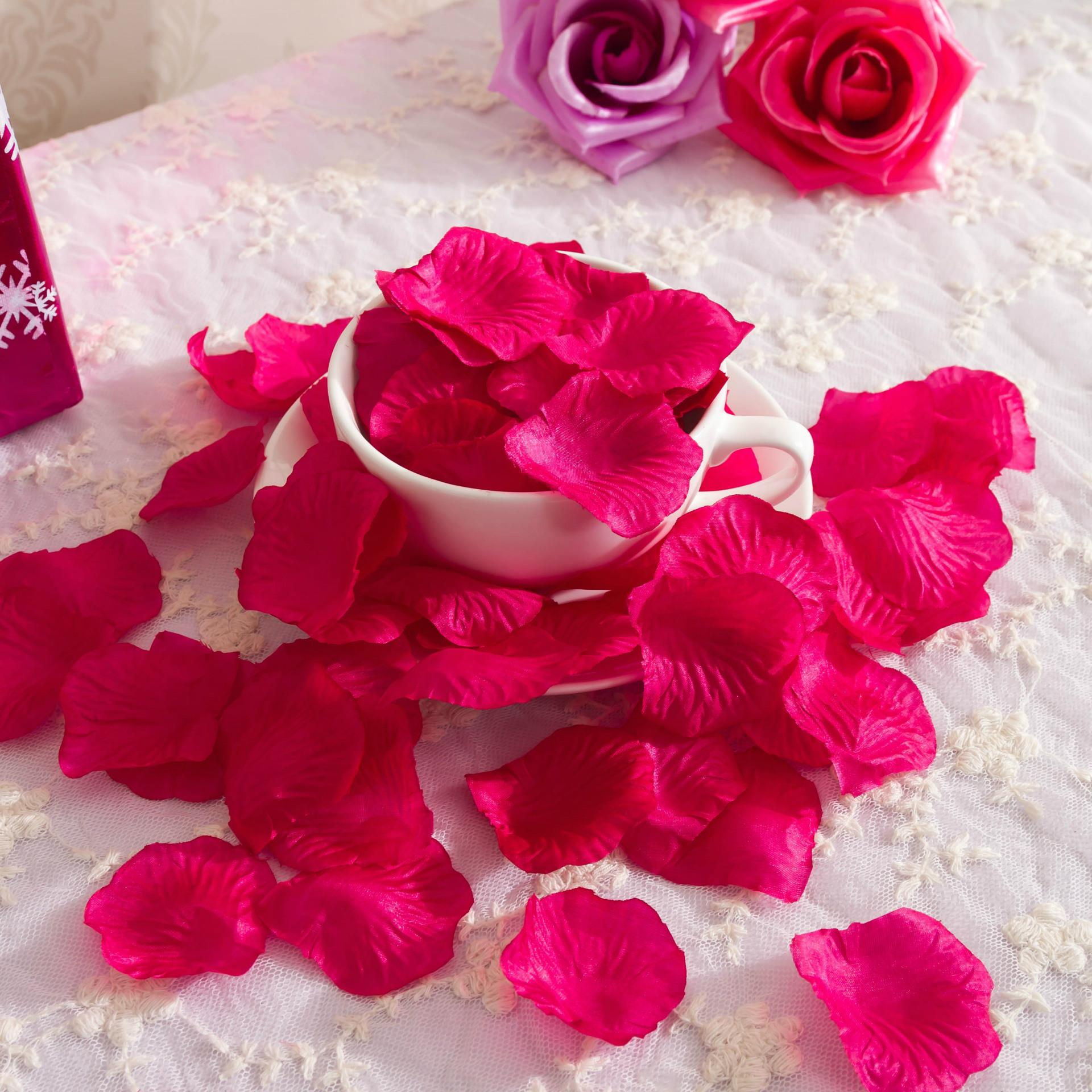 wholesale 100pcsset various colors silk flower rose petals silk wedding flowers centerpieces are widely used in many situations by people around the world the functions of the silk wedding flowers cheap are great izmirmasajfo