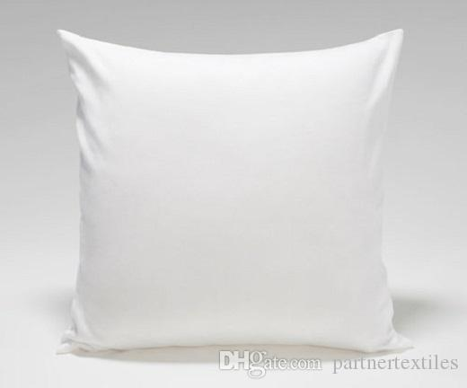 18x18 inches pure white throw pillow