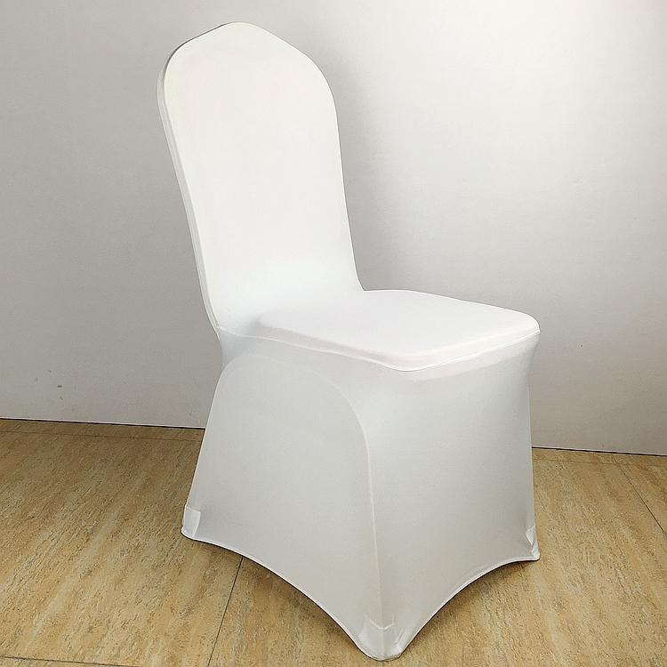 colour white cheap chair cover spandex lycra elastic chair