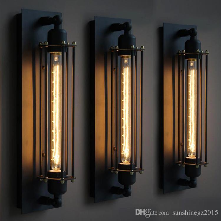 2021 loft vintage wall lamps american