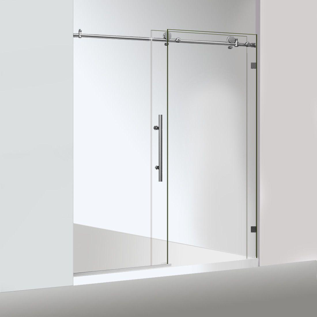 2019 Class Not Include Stainless Steel Chrome Frameless Sliding Shower Door Hardware Round Tube Sliding Shower Door Enclosure From Att Hardware