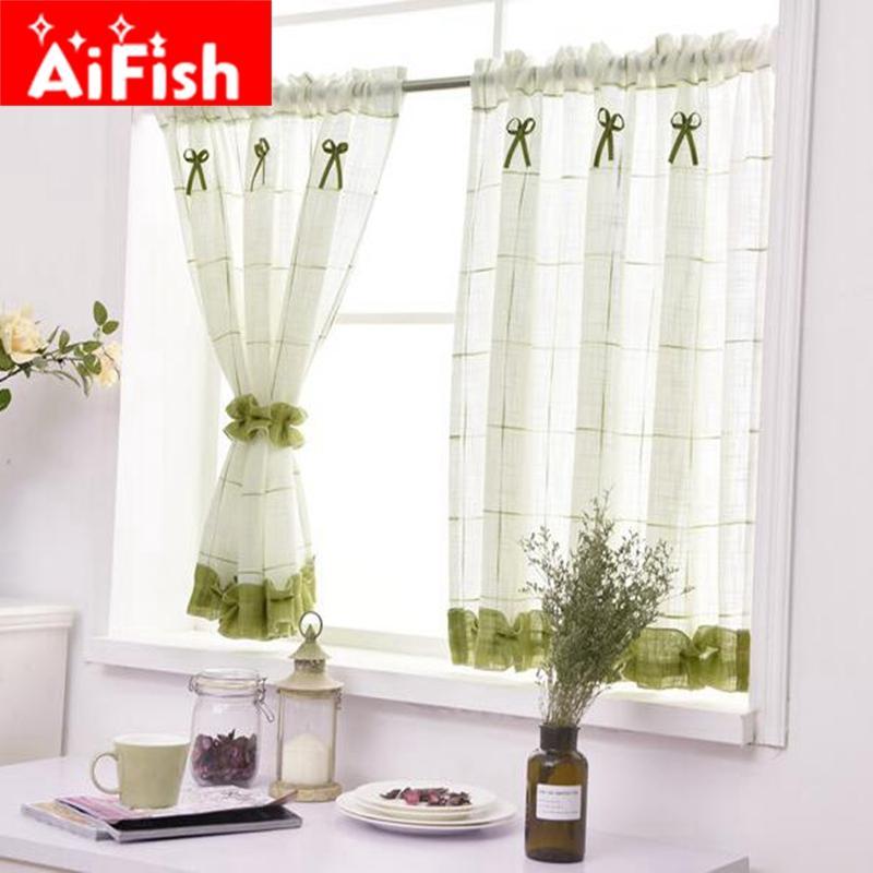 acheter romantique doux dentelle maison jardin ecrans moitie cafe rideau cuisine antipoussiere rideaux balcon toilette pritition rideau 40 de 14 95