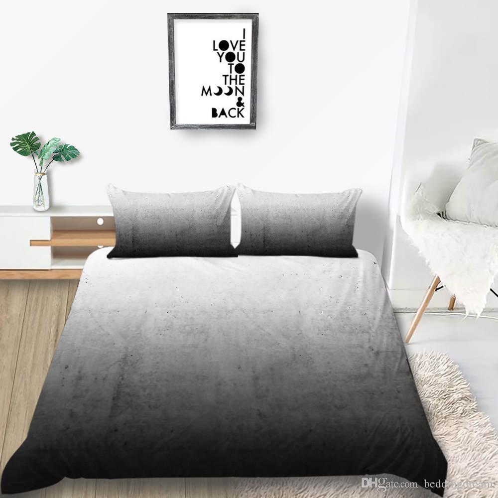 smoke gray bedding set king simple