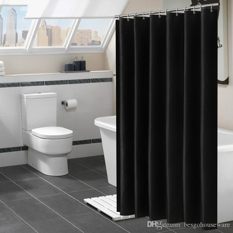 2021 waterproof shower curtains