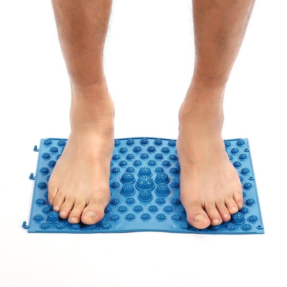 acheter soins des pieds acupression tapis de pied running man game meme type reflexologie des pieds tapis de massage pour le soulagement de la douleur