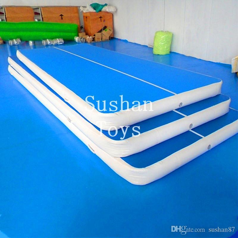 acheter livraison gratuite 6m long 2m largeur 20cm depaisseur gonflable air track gymnastique gonflable air track tumbling tapis gym airtrack a