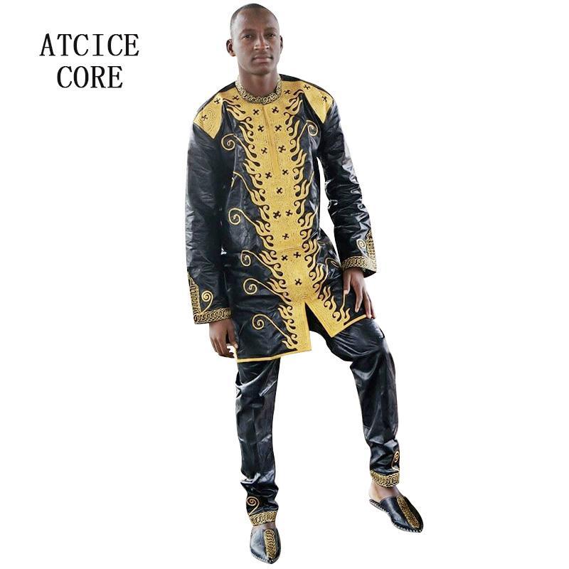 Acheter Robes Africaines Pour Femme Bazin Riche Broderie Conception Robe Homme Africain Vêtements Lc064 De 10587 Du Kennethy Dhgatecom