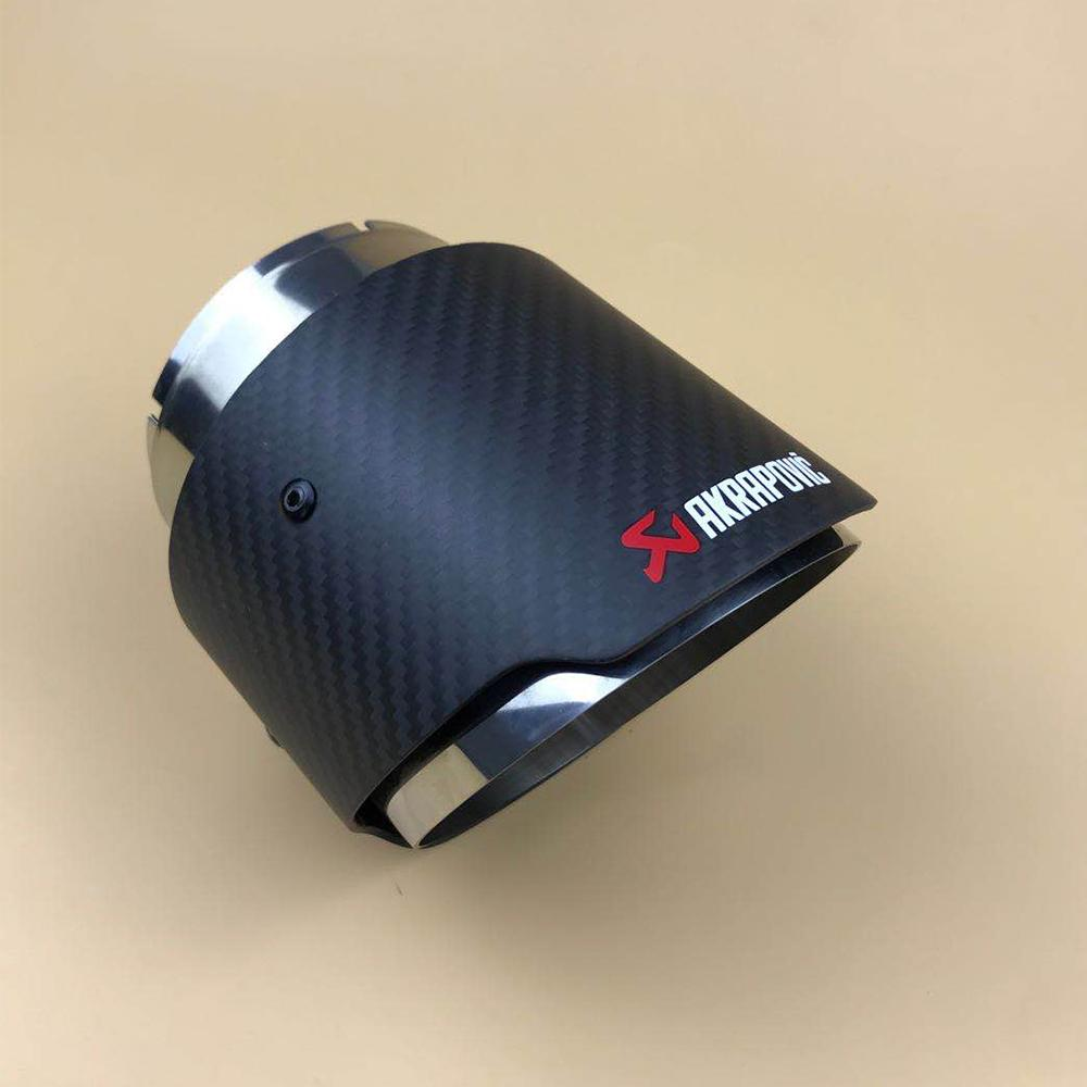 2021 carbon fiber exhaust tip for new