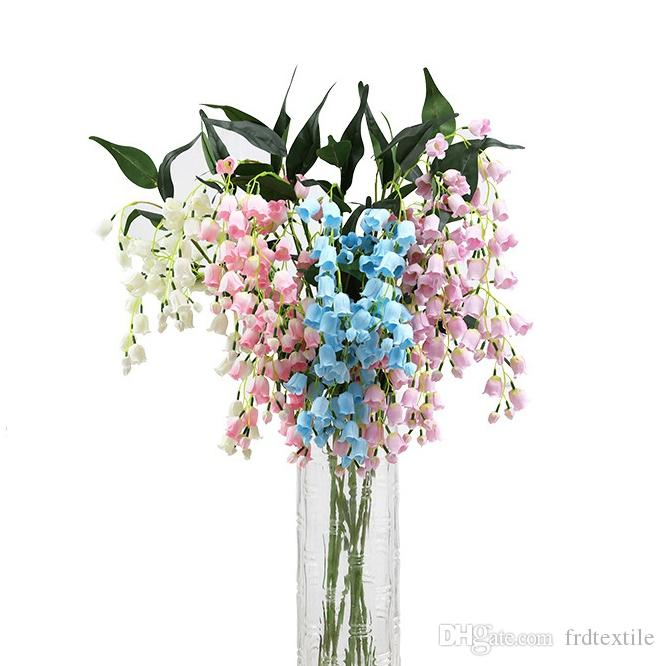 2020 Artificial Flower Lily Of The Valley For Large Vase Floor Vase Flower Center Piece Wedding Decoration From Frdtextile 4 71 Dhgate Com