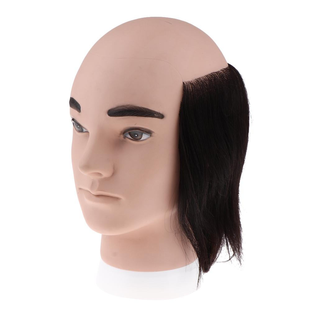 7 9inch Cosmetology Male Mannequin Head With Real