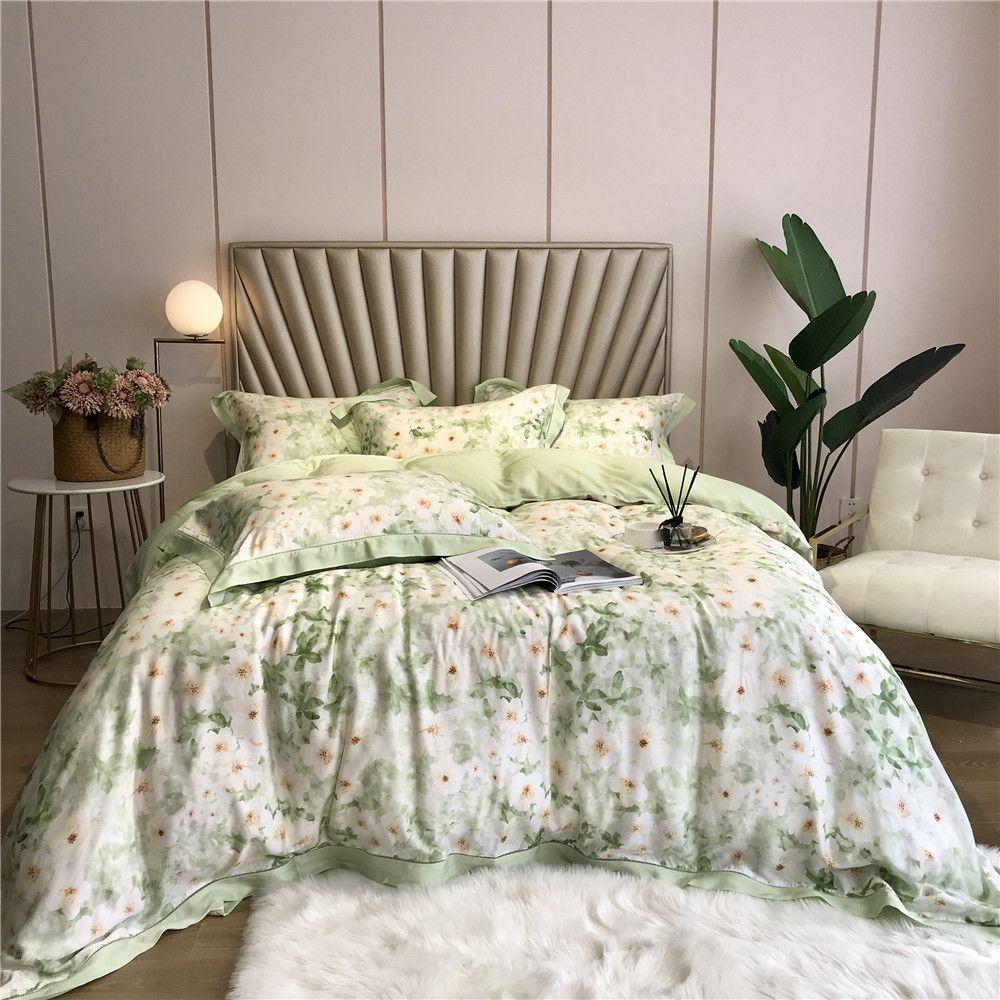 summer fresh small flowers bedding set