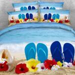 Bedding Set With Pillow Shams Coastal Bedspread Coverlet Seashells Ocean Wave Comforter Cover Seascape Ocean Bedding Beach Duvet Flannel Duvet Covers Cheap Queen Size Comforter Sets From Orangebeddings 60 3 Dhgate Com