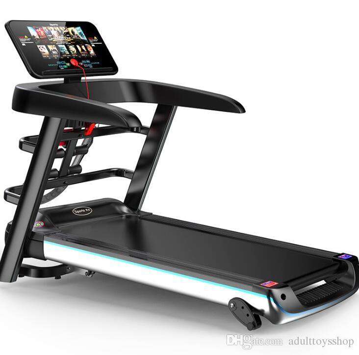 acheter source usine electrique tapis roulant interieur pliant multi fonction couleur ecran wifi equipement de fitness maison tapis roulant