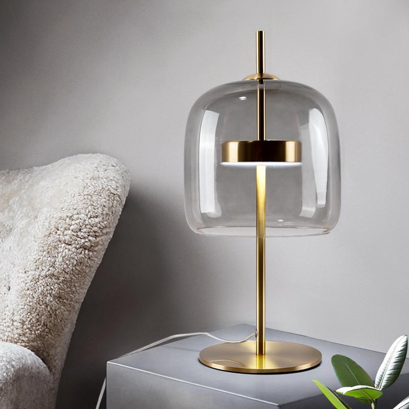 2020 Creative Mushroom Glass Table Lamp Nordic Minimalist Modern Designer Living Room Study Bedroom Bedside Table Lamp Led 110 240v From Zhiguanglighting 142 92 Dhgate Com