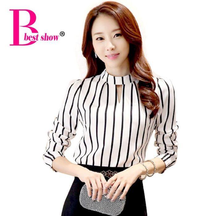 2019 Autumn Long Sleeve Women Top Plus Size Korean Fashion
