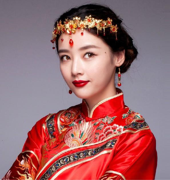 Chinese Style Tiara Headpieces Party Ancient Crowns