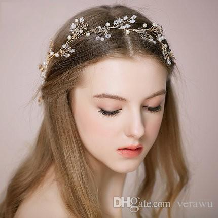 unique romantic handmade bridal hair accessories head bands new style 2015 garden wedding bridal