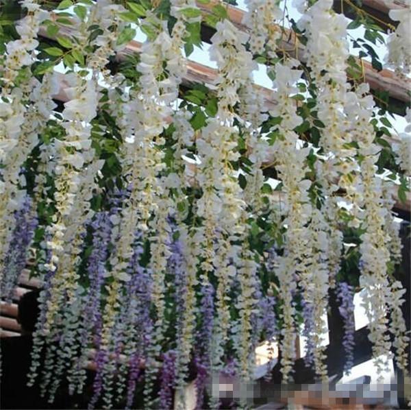 2016 Glamorous Wedding Ideas Elegant Artifical Silk Flower ... on Vine Decor Ideas  id=15138