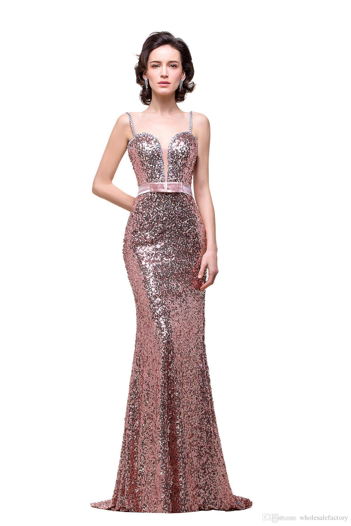 Bling Mermaid Evening Gowns 2013