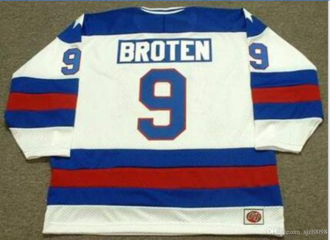 Custom Men Youth Women Vintage 9 Neal Broten