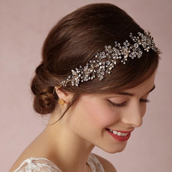 wedding accessories tiara hair bridal headdress hair accessories luxury gold silver crystal garland headband bridal accessories diamond hair pins flower