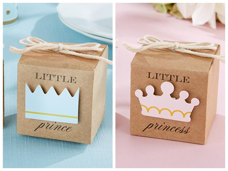 2016 Baby Shower Favors Of Little Prince Kraft Favor Boxes ...