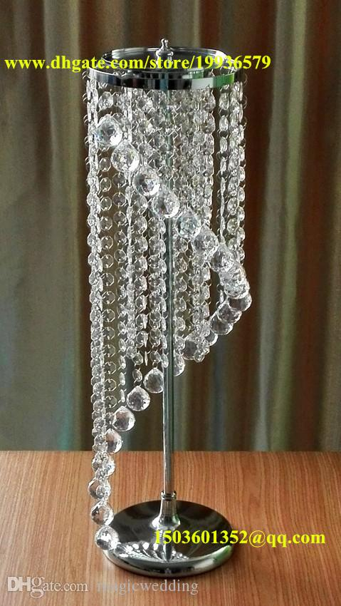 28 Wedding Spiral Crystal Chandeliers Centerpieces