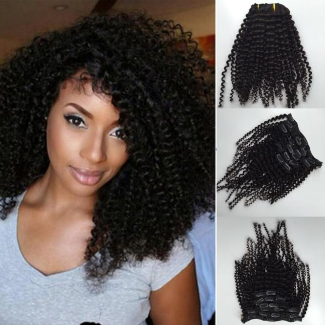 Clip in natural curly hair extensions the best hair 2017 afro curly hair extensions clip in modern hairstyles the us pmusecretfo Gallery