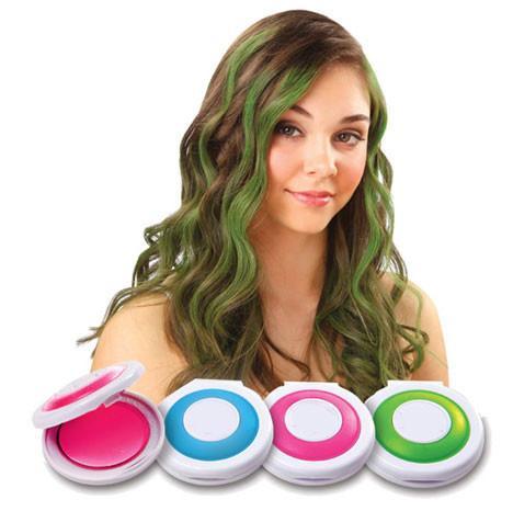 new temporary hair chalk tiza del pelo hot pink blue fuchsia neon green retail box beauty hair