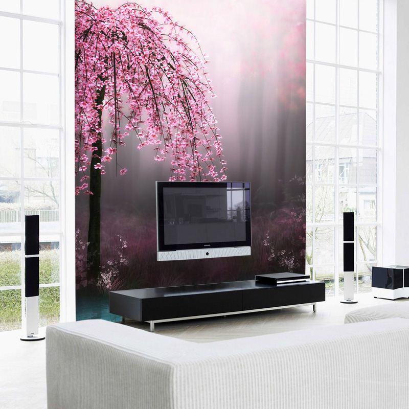 Custom 3d Photo Wallpaper Mural Living Room Background