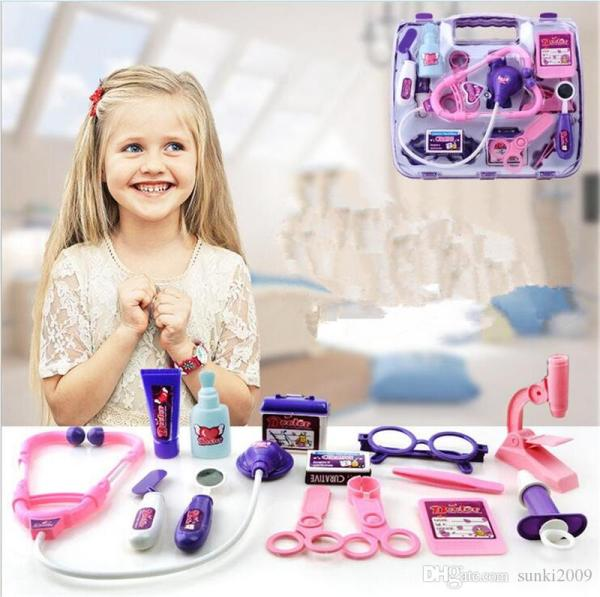2017 Classic Kids Doctor Simulation Toy Educational ...