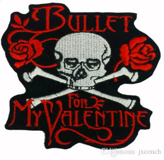 2018 35 Bullet For My Valentine Music Band Embroidered