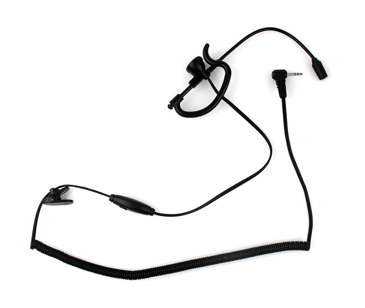1 Pin Ear Rod Headphone For Motorola Two Way Radios 2 5mm
