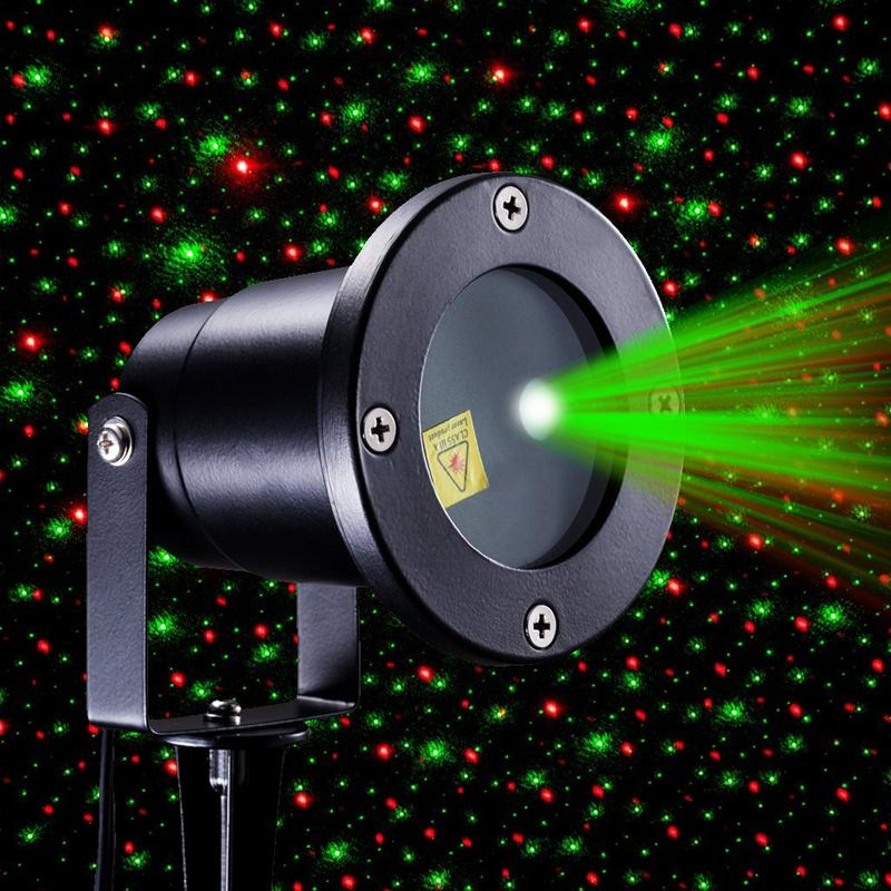 Red And Green Firefly Laser Light Sparkling Star Projector